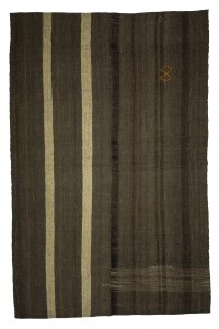 Goat Hair Rug Anique Striped Pattern Turkish Kilim Rug 8x12 Feet  230,353