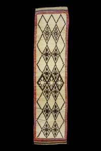 Turkish Rug Runner Antique Turkish Runner Rug 3x10 Feet 77,310