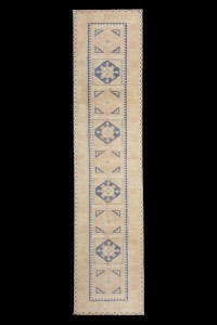 Turkish Rug Runner Blue Turkish Rug Runner 2x10 Feet 72,312