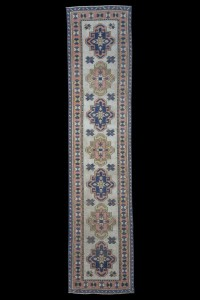 Turkish Rug Runner Blue Turkish Rug Runner 2x10 Feet 72,317