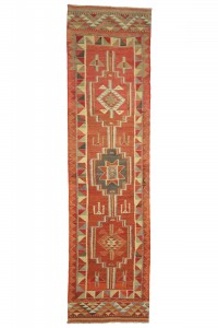 Turkish Rug Runner Bohemian Turkish Rug Runner 3x11 Feet 87,332