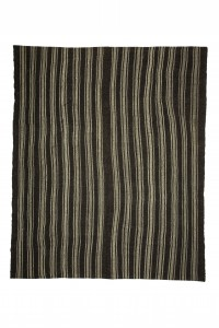 Goat Hair Rug Brown And Gray Turkish Kilim Rug 7x9 Feet  234,280