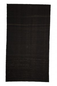 Goat Hair Rug Brown Turkish Kilim Rug 7x12 Feet  200,353