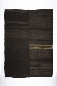 Goat Hair Rug Brown Turkish Kilim Rug 8x11 Feet  254,335