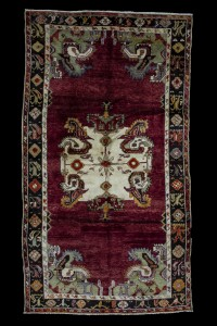Turkish Carpet Rug Cal Carpet Rug from Denizli 6x11 Feet 194,342