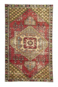 Turkish Carpet Rug Colourful Turkish Carpet Rug 4x6 Feet 110,178
