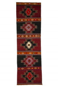 Turkish Rug Runner Decorative Rug Runner 3x11 Feet 98,332