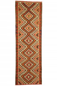 Turkish Rug Runner Flat Weave Turkish Kilim Rug Runner 3x9 Feet  90,281