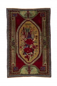 Turkish Carpet Rug Flower PatternTurkish Carpet Rug 4x6 Feet Rug 128,195