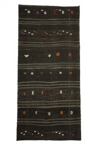 Goat Hair Rug Goat Hair Woven Turkish Kilim Rug 5x10 Feet  149,315