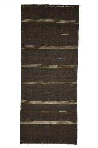 Goat Hair Rug Goat Hair Woven Turkish Kilim rug 5x11 Feet  148,352