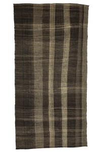 Goat Hair Rug Gray And Brown turkish Kilim rug 6x12 Feet  192,380