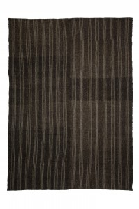 Goat Hair Rug Gray And Brown Turkish Kilim Rug 7x11 Feet  217,287