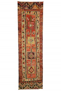 Turkish Rug Runner Homedecor Turkish Kilim Runner Rug 3x10 Feet 90,318
