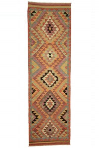 Turkish Rug Runner Kitchen Rug Runner 3x11 Feet 98,330