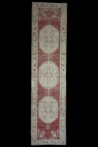 Turkish Rug Runner Long Hallway Runner Rug 3x13 Feet 99,393