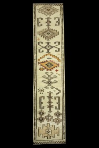 Turkish Rug Runner Long Hallway Runner Rug 4x16 Feet 106,472