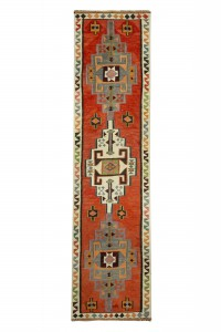 Turkish Rug Runner Long Kilim Runner Rug 3x12 Feet 93,365