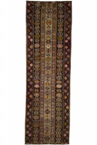 Turkish Rug Runner Long Kitchen Rug Runner 4x14 Feet 135,421