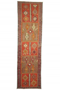 Turkish Rug Runner Long Size Turkish Kilim Rug Runner 3x11 Feet  95,340