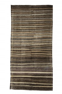 Goat Hair Rug Modern Flat Weave Turkish Kilim Rug 5x10 Feet  157,312