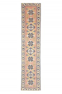 Turkish Rug Runner Modern Rug Runner 3x12 Feet 80,359