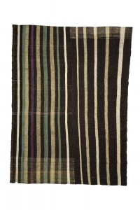 Goat Hair Rug Modern Striped Turkish Kilim Rug 8x10 Feet  226,305