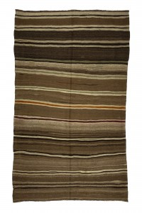 Turkish Natural Rug Natural Brown Turkish Kilim Rug 6x10 Feet  190,315