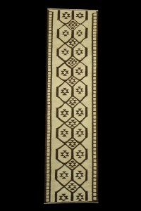 Turkish Rug Runner Nomadic Runner Rug 3x11 Feet 94,342