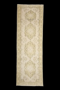 Turkish Rug Runner Oushak Rug Runner 3x9 Feet 94,288