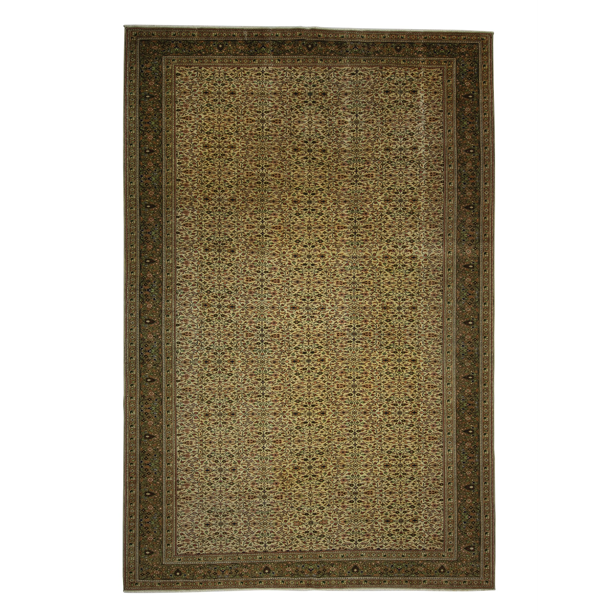 Oversized Double Knotted Turkish Carpet Rug 8x12 Feet 236,355 - Turkish Carpet Rug