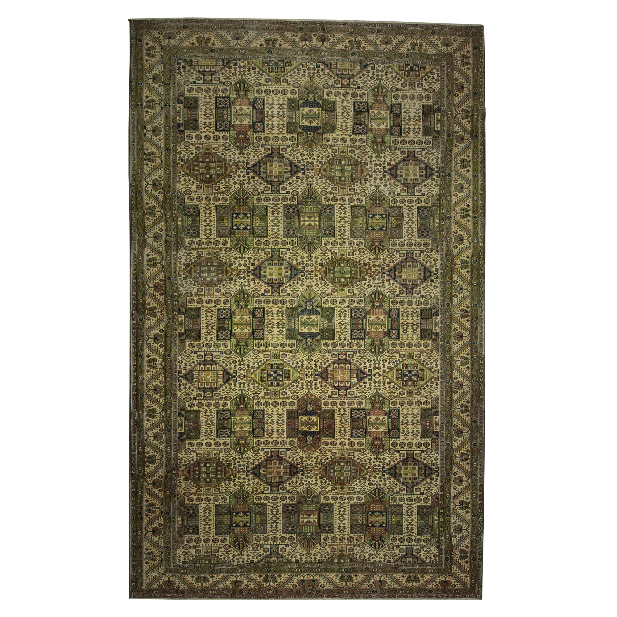 Oversized Natural Carpet Rug 8x13 Feet 252,407 - Turkish Carpet Rug