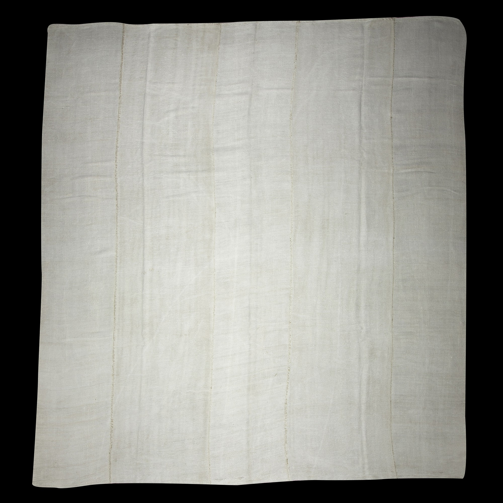 Oversized White Hemp Rug 11x12 Feet 345,375 - Turkish Hemp Rug