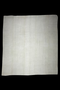 Oversized White Hemp Rug 11x12 Feet 345,375 - Turkish Hemp Rug  $i