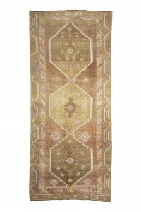 Turkish Rug Runner Pastel Turkish Rug Runner 5x12 Feet 158,362