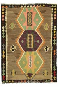 Turkish Kilim Rug 7.8x4.1 feet 238x125 cm Small Rugs Vintage Anatolian Rug Turkish Oushak Rug Living Room Rug MYK-1349