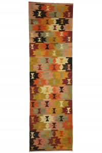Turkish Rug Runner Pink Turkish Kilim Rug Runner 3x9 84,284