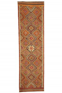 Turkish Rug Runner Pink Turkish Kilim Runner Rug 3x10 Feet 85,297