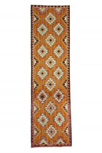 Turkish Rug Runner Pink Turkish Runner Rug 3x12 Feet 101,356