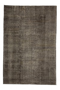 Goat Hair Rug Plain Brown Turkish Kilim Rug 7x10 Feet  200,298