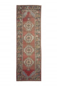 Turkish Rug Runner Primitive Turkish Runner Rug 3x10 Feet 93,293