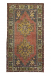 Turkish Carpet Rug Red Turkish Carpet Rug from Oushak 134,249