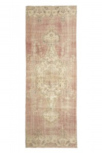 Turkish Rug Runner Red Turkish Rug Runner from Oushak 100,277