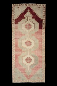 Turkish Carpet Rug Salmon Pink Turkish Carpet Runner 5x12 Feet 147,348