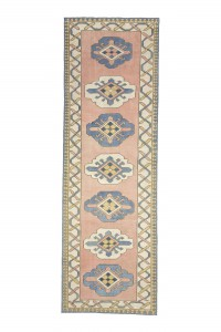 Turkish Rug Runner Soft Color Rug Runner 3x9 Feet 92,287