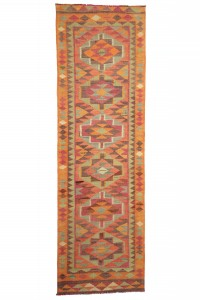 Turkish Rug Runner Soft Color Turkish Rug Runner 3x10 Feet 90,294