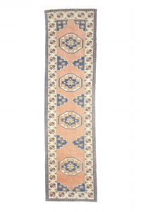 Turkish Rug Runner Terracotta Rug Runner 3x10 Feet 84,316