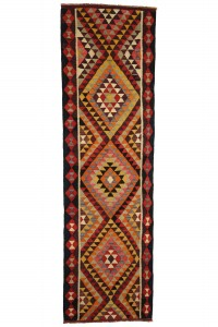 Turkish Rug Runner Turkish Geometric Runner Rug 3x10 Feet 88,300