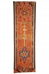 Turkish Rug Runner Turkish Kilim Rug Runner 3x11 Feet  101,328