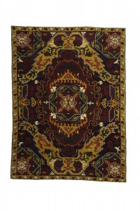 Turkish Carpet Rug Vintage Turkish Carpet Rug from Konya 6x8 Feet 178,236